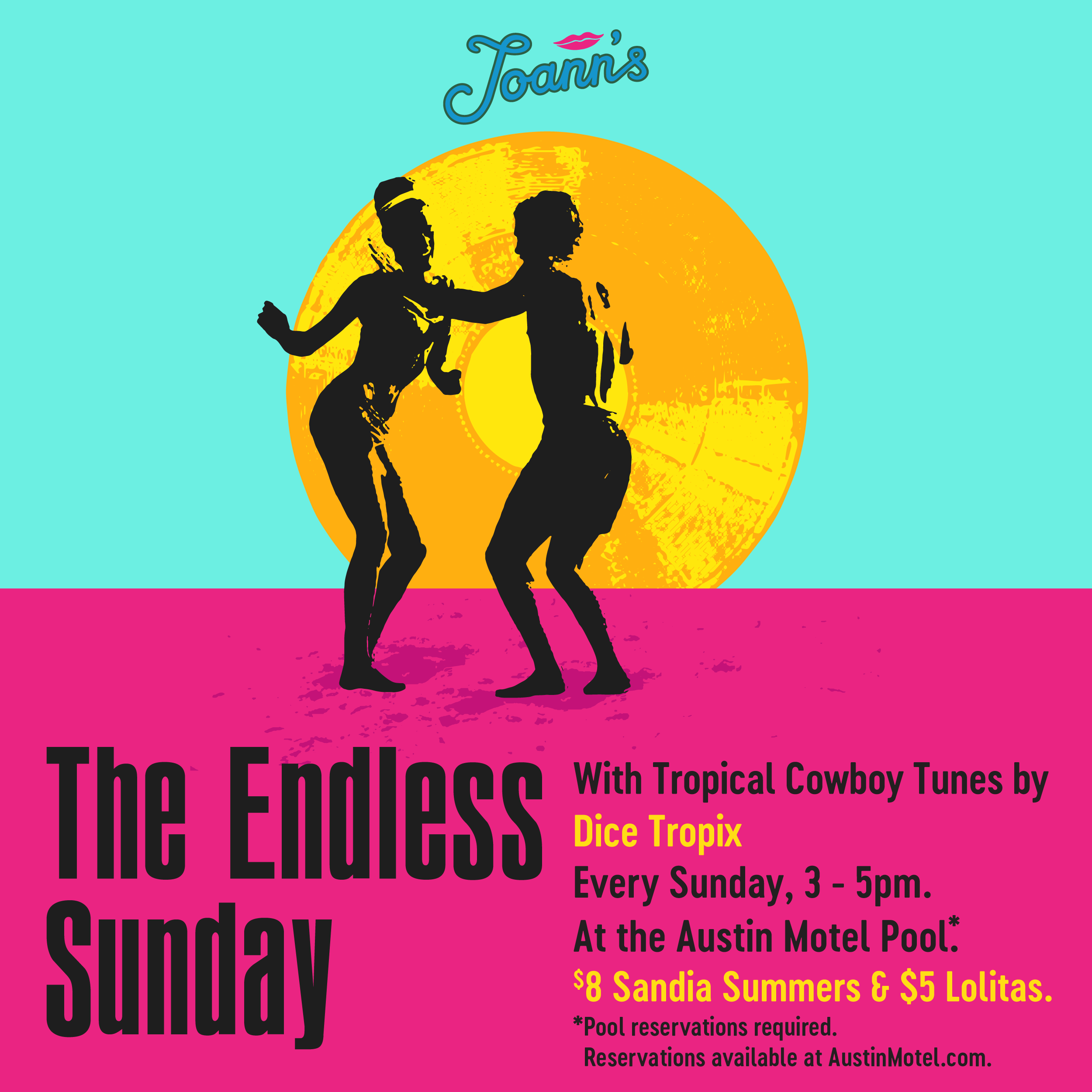 Endless Sunday Event Artwork