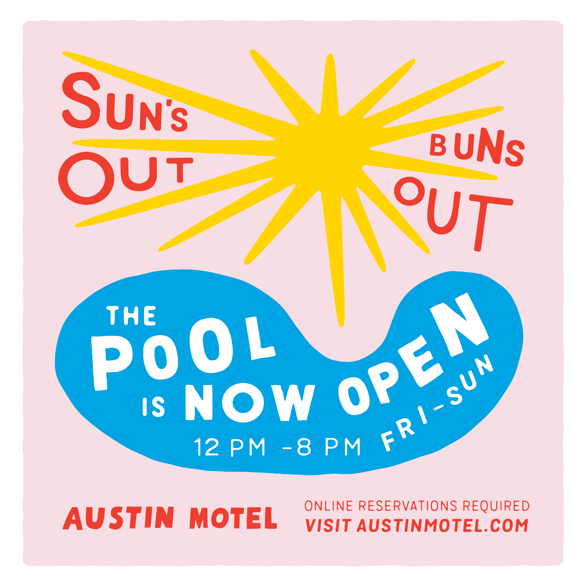 Poster for Our Pool Is Now Open