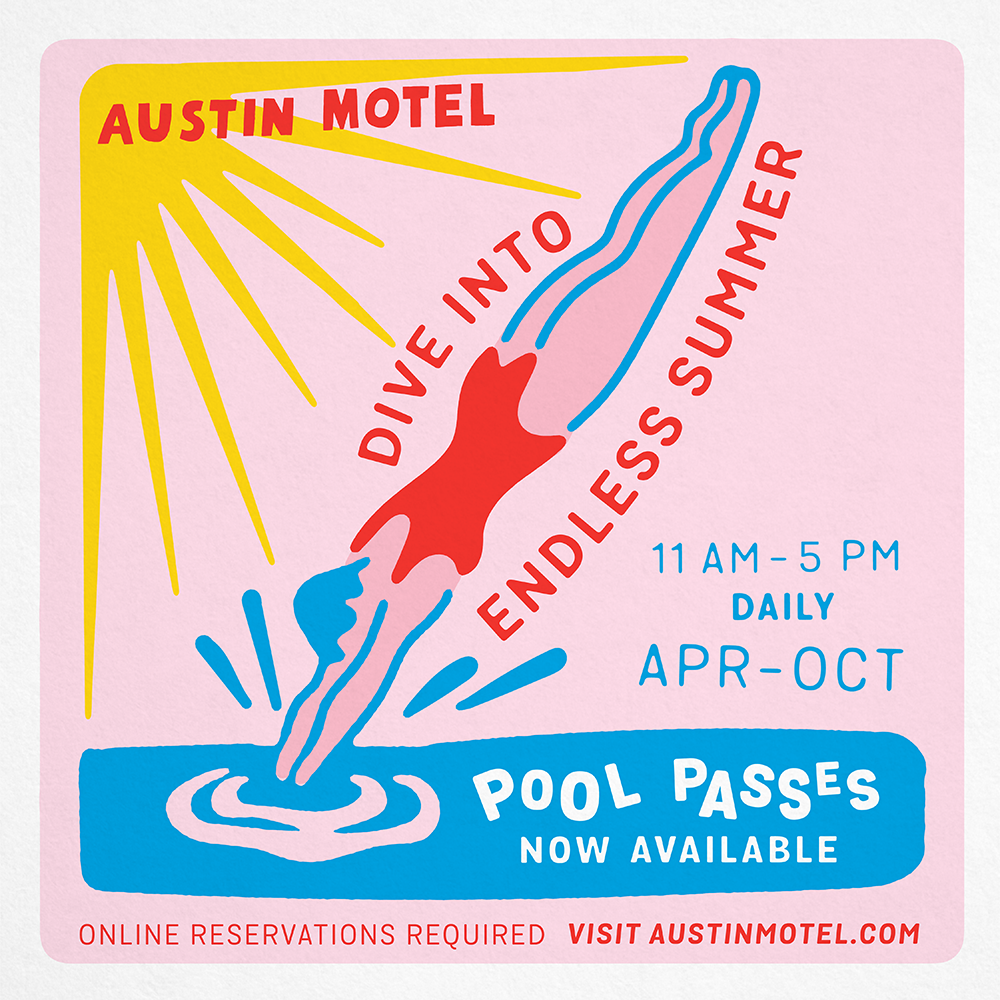 Poster for Daily Pool Passes