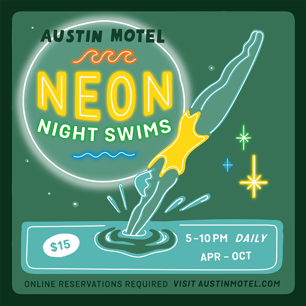 Poster for Neon Night Swims